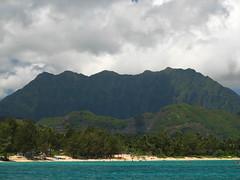 (ravengirl1220) Tags: hawaii oahu kayaking 2008 mokuluaislands flatisland kailuabeach koolaumountainrange