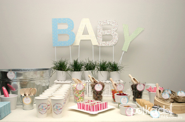 Ice Cream Baby Shower 1