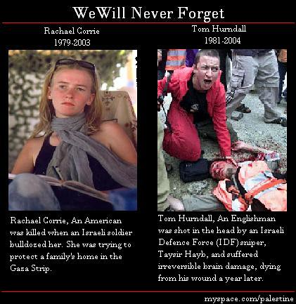 Occupiers of palestine country crashed rachel corrie to death Part 4/4 by Palestine-Wants Peace Not Wars.