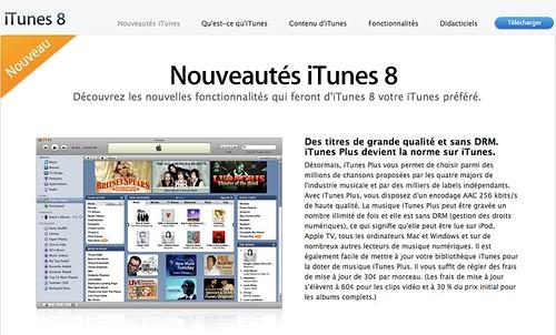 iTunes 8 sans DRM