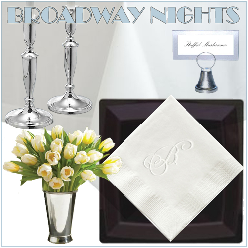 Broadway Nights Cocktail Party Decor