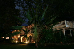 Casa Goethe at Night (Andrew BE) Tags: night dominicanrepublic sosua iic