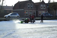 ijspret in Edam (johan wieland) Tags: winter ij