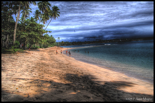 1st Try on HDR: The Beach
