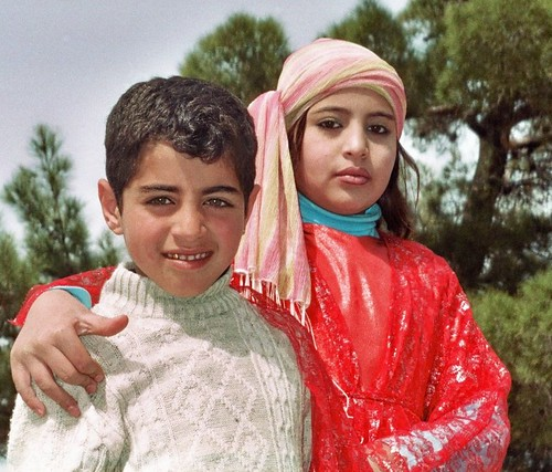 Kurdish siblings