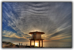 Sunrise at the Wanda Lifeguard Tower (Michael.Sutton) Tags: beach sunrise coast michael nikon photographer australian australia shore nsw coastline hdr sutton desktopwallpaper firstlight desktopbackground d90 photomatix supershot sutherlandshire sutto wandabeach platinumphoto jediphotographer sutto007 capturethefinest fotographylife fotographylifecom michaelsuttonphotographycom michaelsuttonphotography mns007gmailcom suttocom