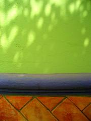 dappled apple-green (msdonnalee) Tags: abstract brick muro verde green wall pared groen architecturaldetail  vert mura grn minimalism abstracto mur  parede zielony verte mauer abstrakt verd abstrait grn berde sundappled   walldetail grn berdea abstractreality vihre  walltexture adobebrick  zelen    colourartaward mexicanwall  xanhlc photosbydonnacleveland murodemxico midori hijau