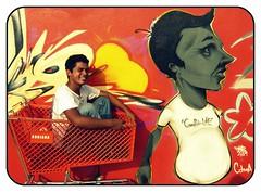 Padz (aLaN) Tags: wall graffiti mural paint spraypaint graff piece 2009 colima legal manzanillo graffitilife mzlo padz