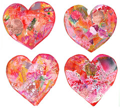JANUARY heARTs (all four)