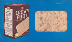 Nabisco Crown Pilot Crackers (The Cardboard America Archives) Tags: vintage ads advertising crackers nabisco crownpilot