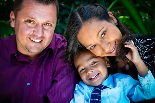 Familia de Costa Rica