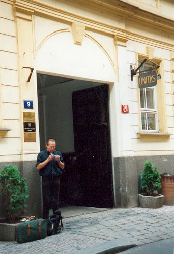 hiet zat Havel gevangen