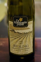 2007 Dr. Konstantin Frank Finger Lakes Dry Riesling