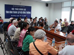 Meeting at Da Nang University