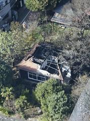 090216(2) - 位於日本東京杉並區的知名觀光景點『龍貓之家』在14日凌晨被火災燒毀,原定對外開幕時間恐將無限期延後