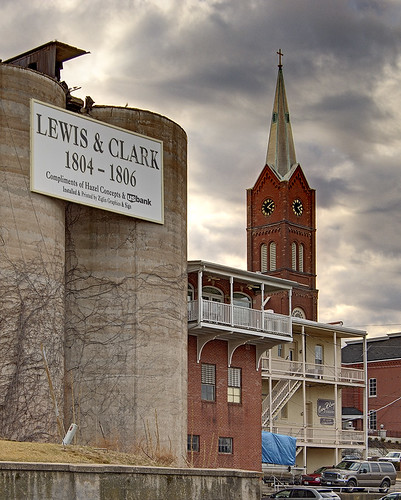 Downtown Washington, Missouri, USA - Lewis & Clark