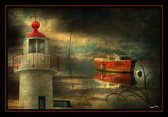 PHAREflickr (nathalie56) Tags: sea sky clouds d50 nikon ciel bateau phare justimagine virusphoto pixellistes nathalieribire nathalie56 artistictreasurechest musicsbest theartlair