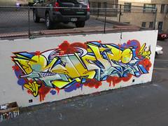 Sunk (antidrip) Tags: wall graffiti cia denver colarado antidrip sunkone