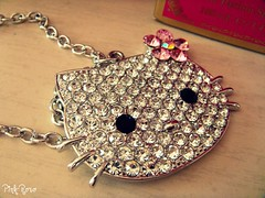 Hello Kitty ~ (pinkyia) Tags: hello pink vintage necklace hellokitty kitty roro accessorio pinkyia pinkroro