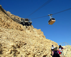 Approach to Masada by laura padgett, on Flickr