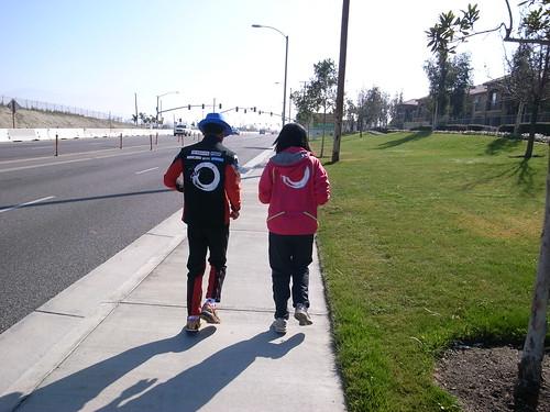[earth-marathon-blog:00473] 記念ジョギング