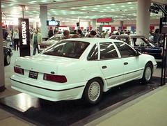 1990 Ford Taurus SHO (splattergraphics) Tags: ford taurus 1990 carshow baltimoreconventioncenter motortrendinternationalautoshow taurussho