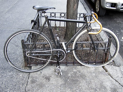New York City Bike (onesevenone) Tags: new york city nyc ny bike bicycle speed fix gear bicicleta single cycle bici singlespeed fixed fixie fixedgear fahrrad ciclo zweirad