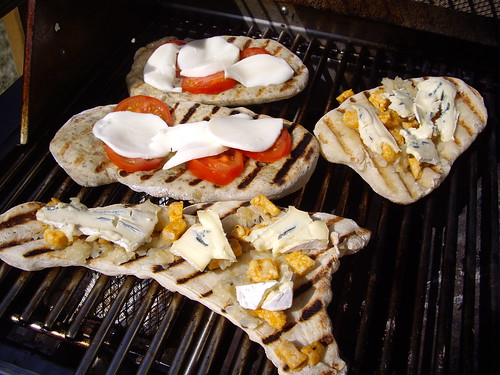 Flatbread on the Grill