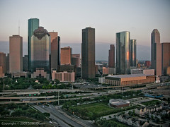 Downtown Houston (scottdunn) Tags: kite skyline skyscraper photography cityscape houston aerial kap aerialphotography kiteaerialphotography lightroom urbanskyline scottdunn photosexplore sabinepark paerials pabove phoustonchronicle fesseldrachenluftbildfotografie