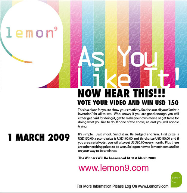 Lemon9Com As You Like it by lemonnine