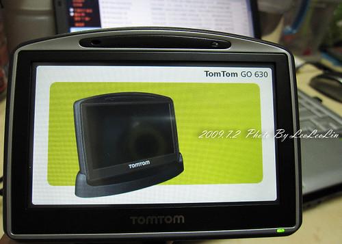 汽車導航分享|TomTom GO 630開箱