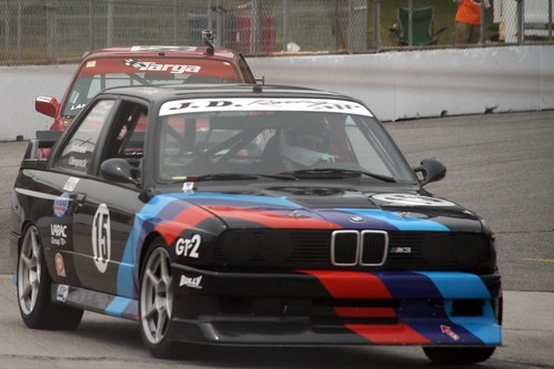Peter Schlag in a 1987 BMW M3 by Paul Henman
