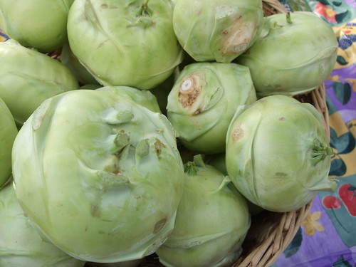 Kohlrabi from Combs Herbs
