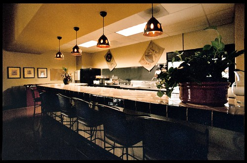 Cafe Marimba, bar area