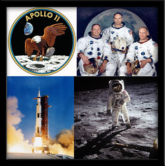 Forty years ago... (twm1340) Tags: moon eagle space tranquility nasa landing exploration armstrong aldrin collins moonwalk lunar base apollo11
