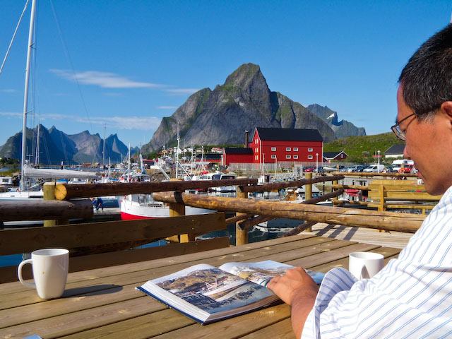 Reine rorbuer patio
