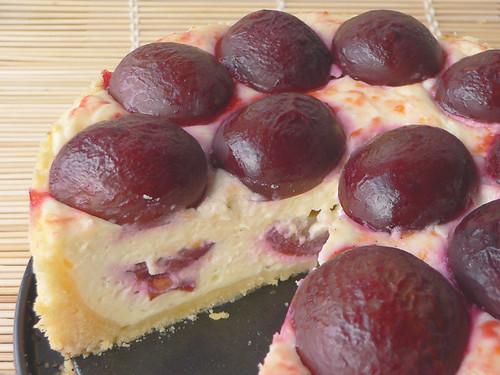 Kleiner Pflaumen-Käse-Kuchen