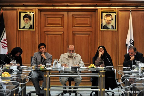 Members of Tehran Council and Sohrab's Mother
