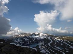 Blægja (1304 moh) (dese) Tags: summer mountain snow mountains photo foto sommer july juli 2009 fjell snø sommar fjordane dese july7 sognogfjordane sunnfjord dalsfjorden bleia kvamshesten storehesten blægja desefoto førdefjorden