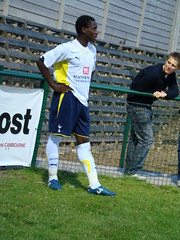 DSC05051 (DesertMonsoon) Tags: spurs football tottenham preseasonfriendly rowleypark stneotsfc pauljosempoku