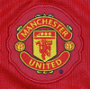 Manchester United 2007-09 home shirt badge