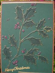 Christmas 2009 03 (Gregelope) Tags: christmas cards cuttlebug
