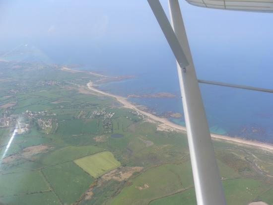 The Normandy coastline, France