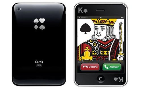 Meninos iPhone Playing Cards