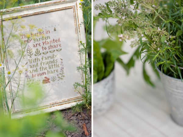Herb Garden (Little House Needleworks)