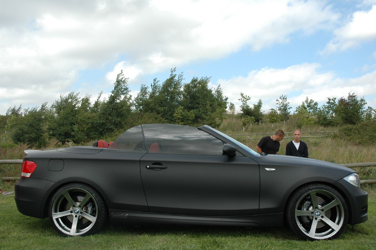 Matte Black 135i Bmw 1 Series Coupe Forum 1 Series Convertible