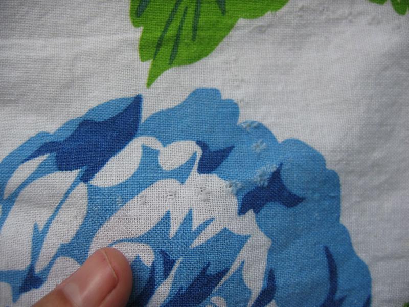 stitching holes