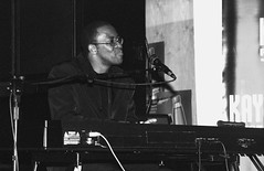 Don Laka South African Jazz Birchwood Executive Hotel Johannesburg B&W June 2002 008 (photographer695) Tags: donlaka southafrican jazz don laka south african birchwood executive hotel johannesburg bw june 2002