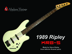 1989 Ripley / Kramer KRB-5 bass vintage Steve Ripley made guitar (eric_ernest) Tags: original musician music art classic beautiful rose museum vintage photo cool model pointy tour graphic photos bass guitar sale steve band 5150 guitars columbia ripley musical 1984 instrument string voyager eddievanhalen floyd halen rare kramer guitarist recording hardrockcafe airbrush pacer guitarplayer pickups vibe paf patent humbucker guitarcollection evh floydrose airbrushed guitarcenter guitarsolo madeintheus baretta madeintheusa vintageguitar guitarshow nightswan edwardvanhalen vintageguitars guitarshows guitarcollections rareguitar guitarphotos rareguitars kramerkonvention guitarcollecting vintagekramerguitars abalonevintage vintagekramer denniskline httpwwwabalonevintagecom 918v krb5
