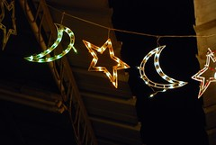 Starry Night (Or Hiltch) Tags: night stars lights israel market jerusalem capital jewish ramadan  alquds d80  yerushalyim orhiltch
